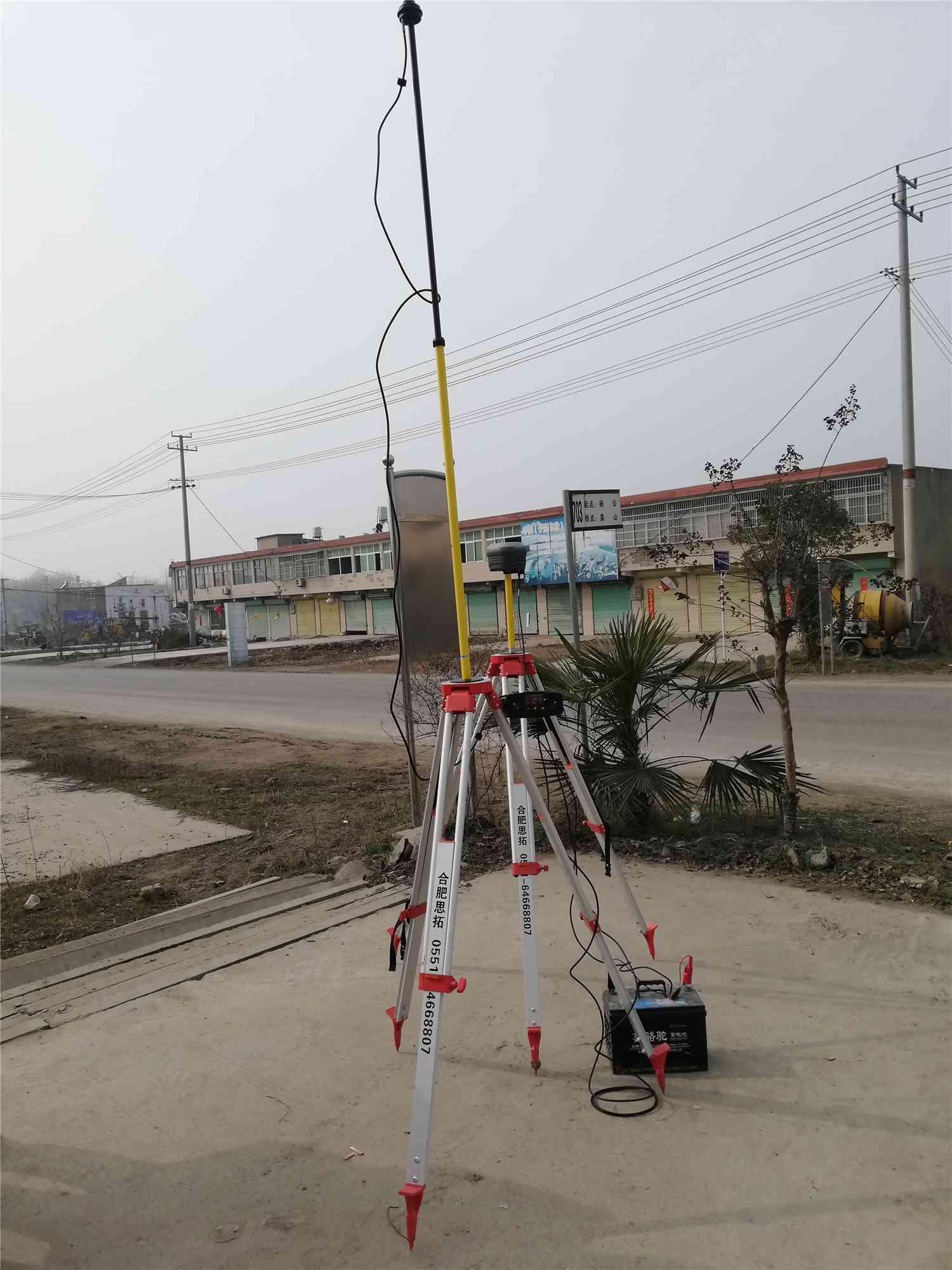 华测M3 GPS RTK交货培训现场