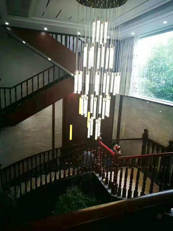 SQ-145實木樓梯客戶案例