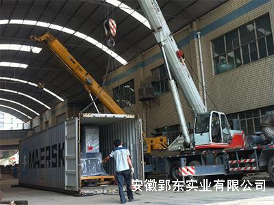 合肥设备搬运的成功案例