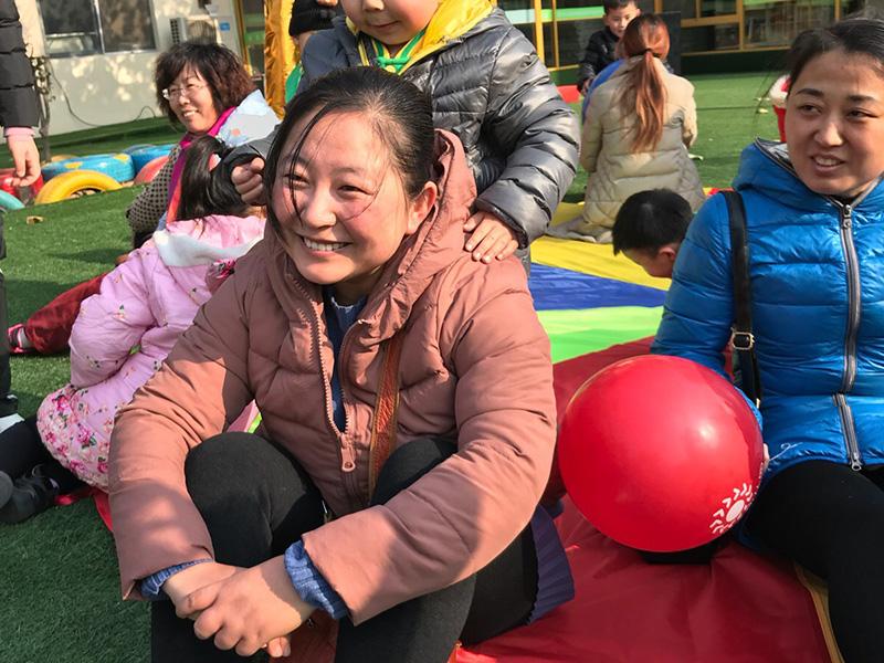 安丘双语幼儿园团队活动