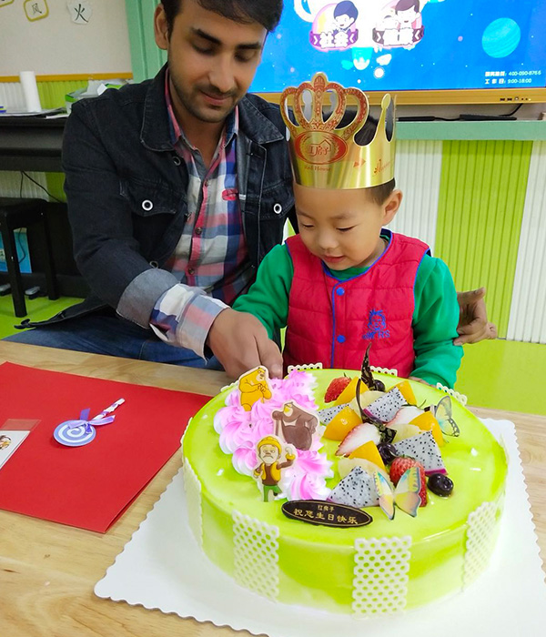 安丘雙語幼兒園環境展示