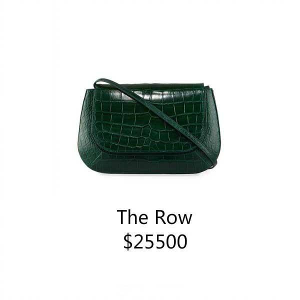the row 单肩包
