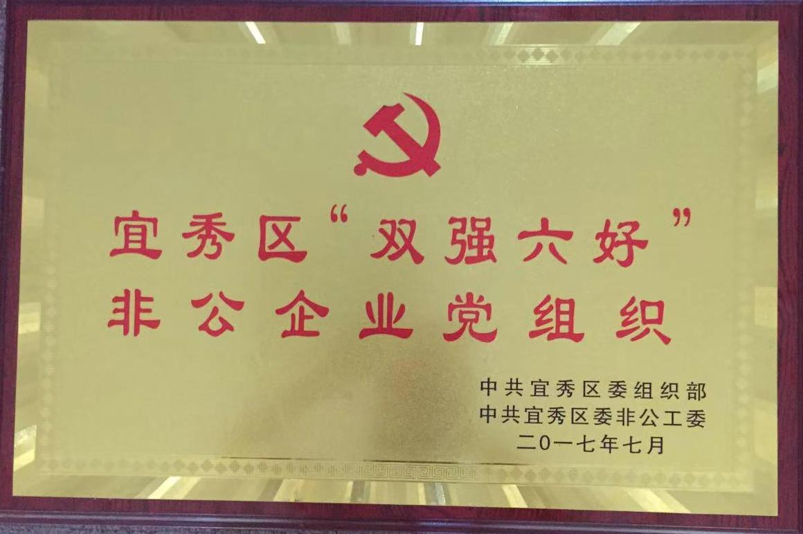 """2017年度宜秀区""""双强六好""""非公企业党组织"""