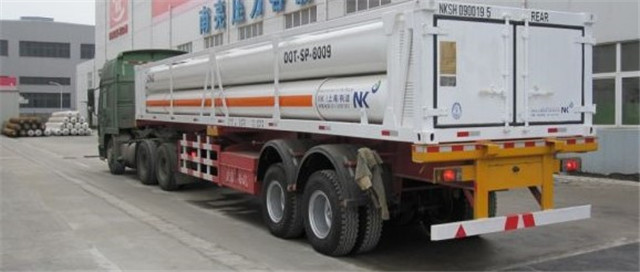 氫氣運輸魚雷車