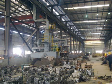重庆方汀机械集团中频炉烟气处理工程