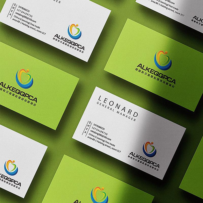 阿魯科爾沁旗心理咨詢師協會LOGO設計,心理標志設計