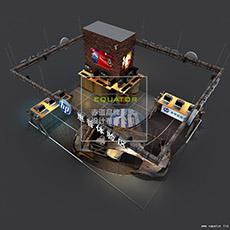 惠普电脑体验区设计和施工方案