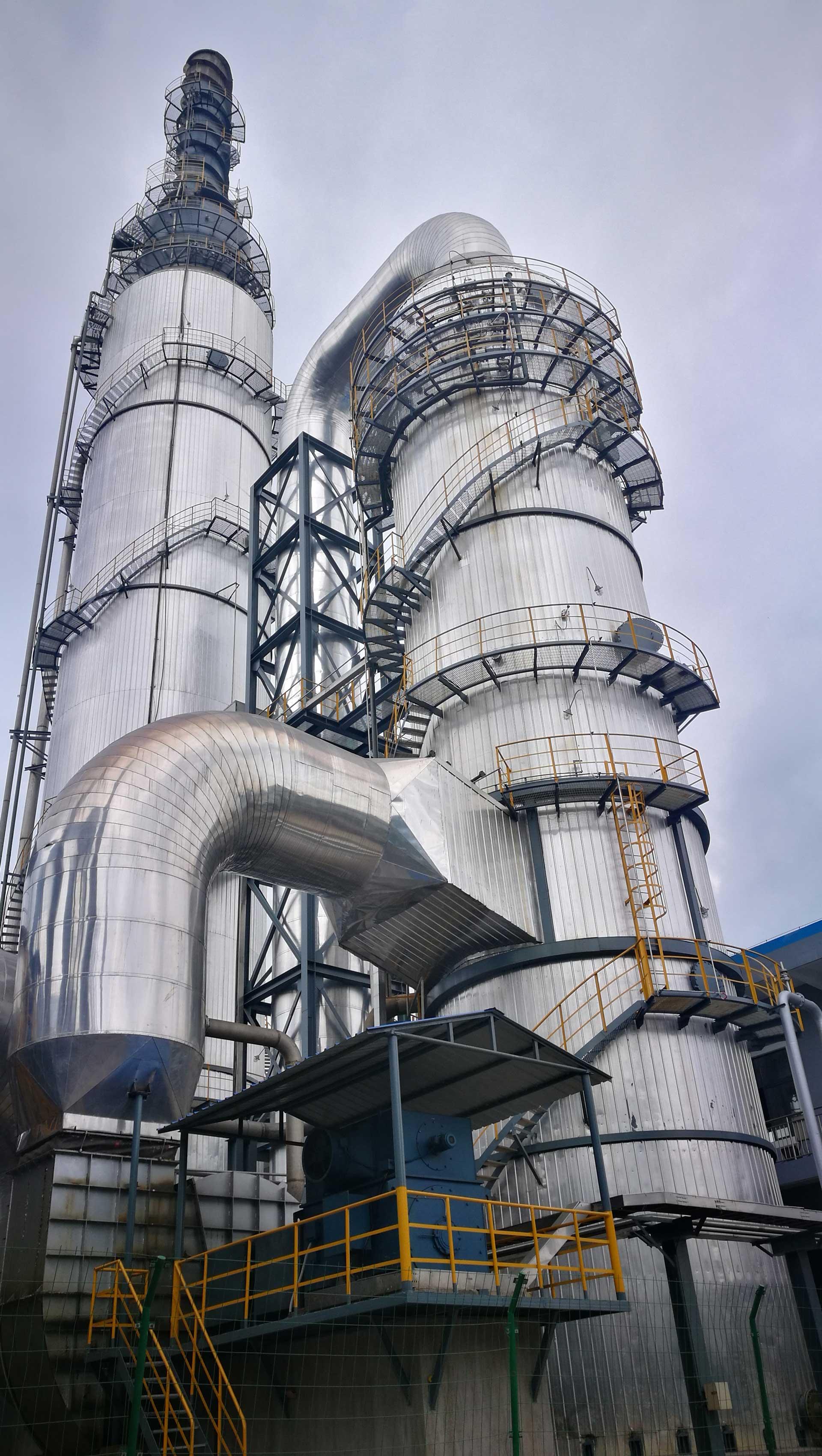景焦集团开门子陶瓷化工有限公司焦炉烟气脱硫脱硝一体化系统