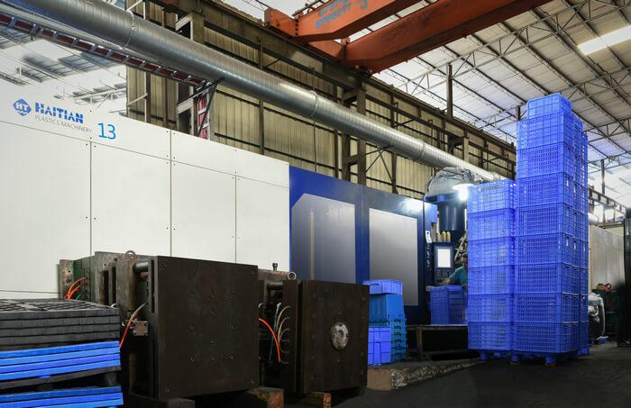 塑胶箩筐生产机台