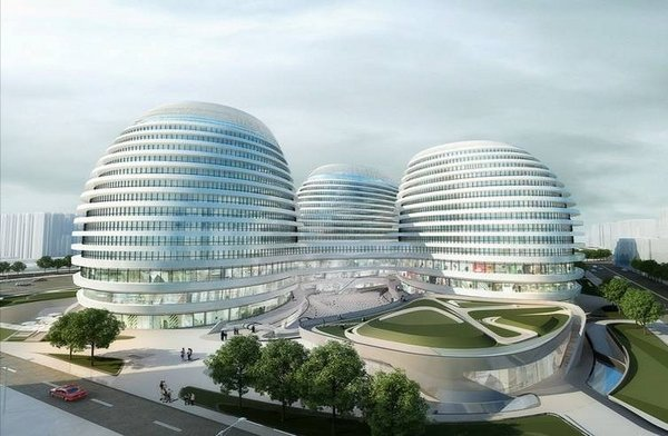 北京银河SOHO现代城