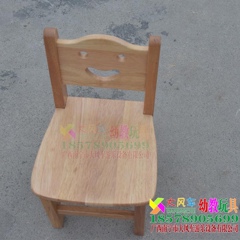 广西南宁幼儿园木质实木椅子
