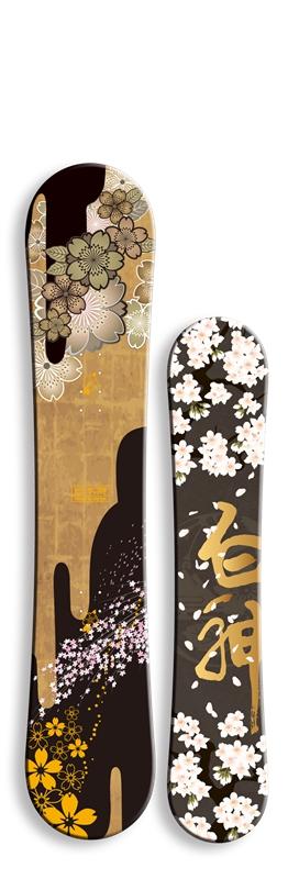 BLUEMORIS&白神系列 樱花 单板