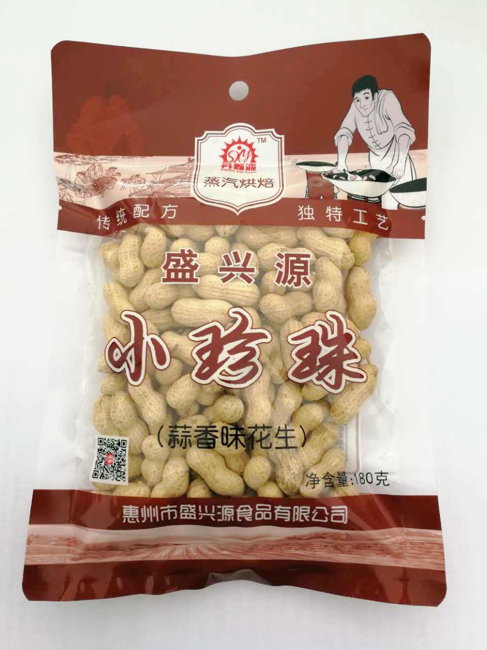 蒜香味花生/小珍珠/180g