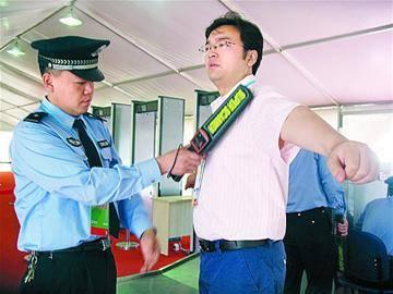 杭州人才招聘会安检