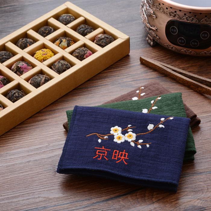 JY5001刺銹茶巾
