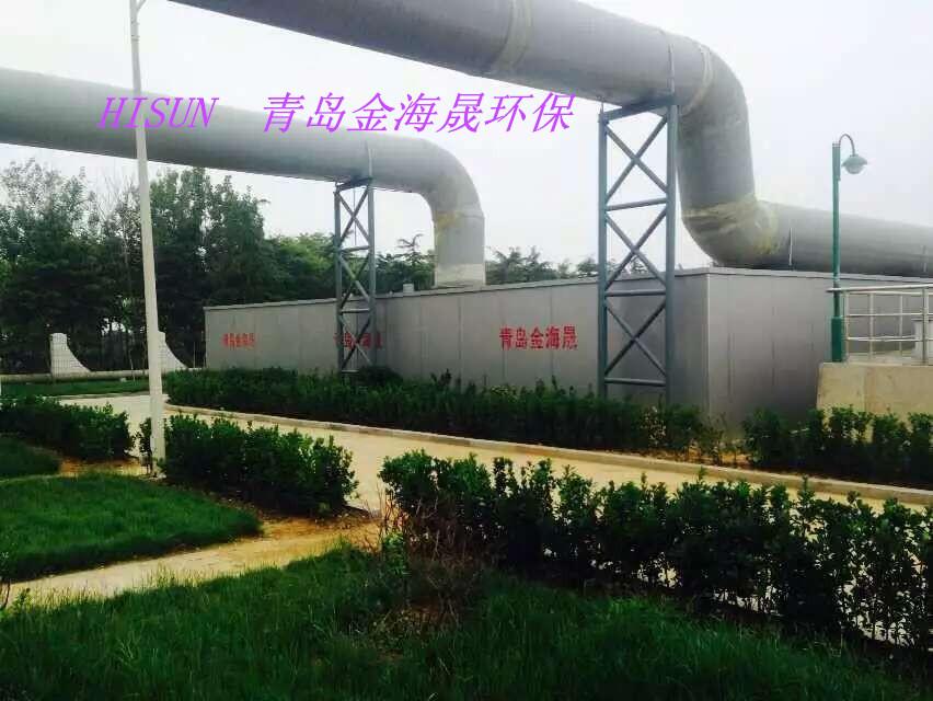泥布湾污水厂除臭装置