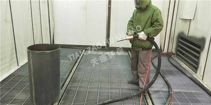 成都喷砂机械:小型喷砂除锈机除锈及施工工艺