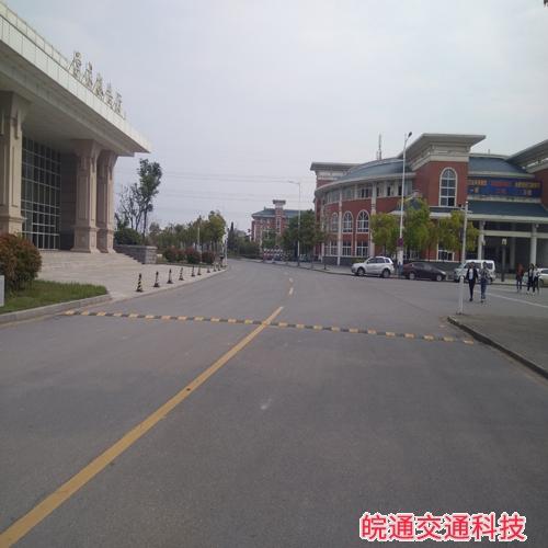 滁州职业技术学院道路划线
