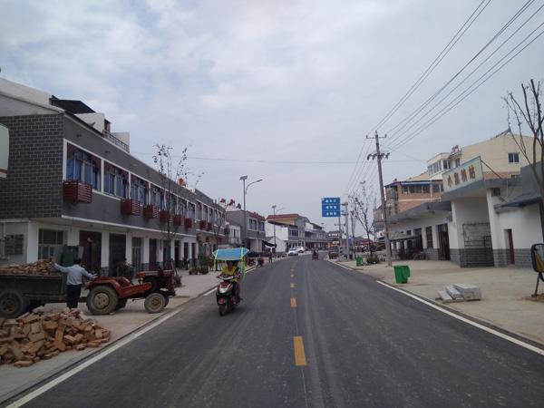 全椒六镇美丽乡村道路标线