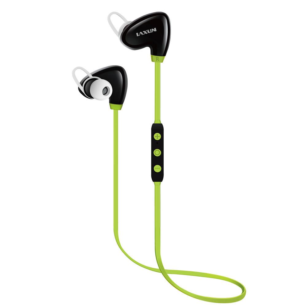 laxun莱讯x6运动型蓝牙耳机超长待机 智能降噪 语音提醒线控蓝牙