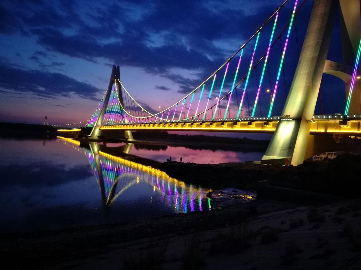 东北松原天河大桥项目,主控是901分控是802