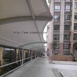 自行车车棚 太和县国际小区