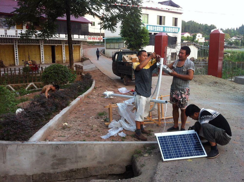 安徽亳州太阳能路灯安装