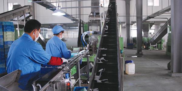 皂类产品生产流水线