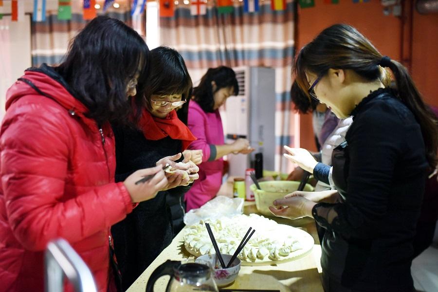 包饺子活动