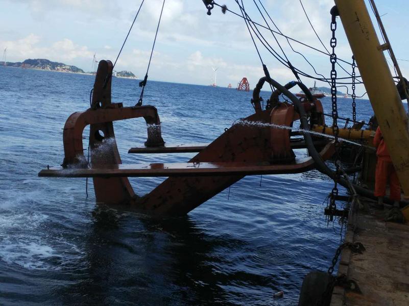 海底电缆施工