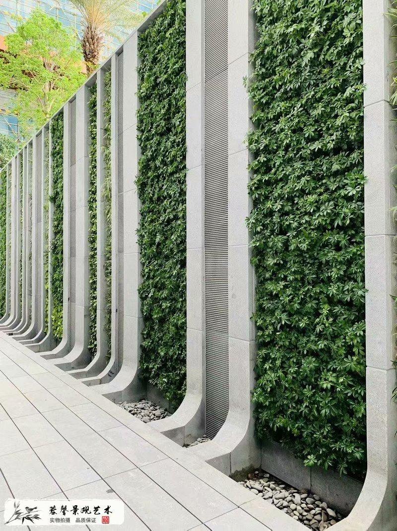 广西钦州植物墙,钦州仿真植物墙