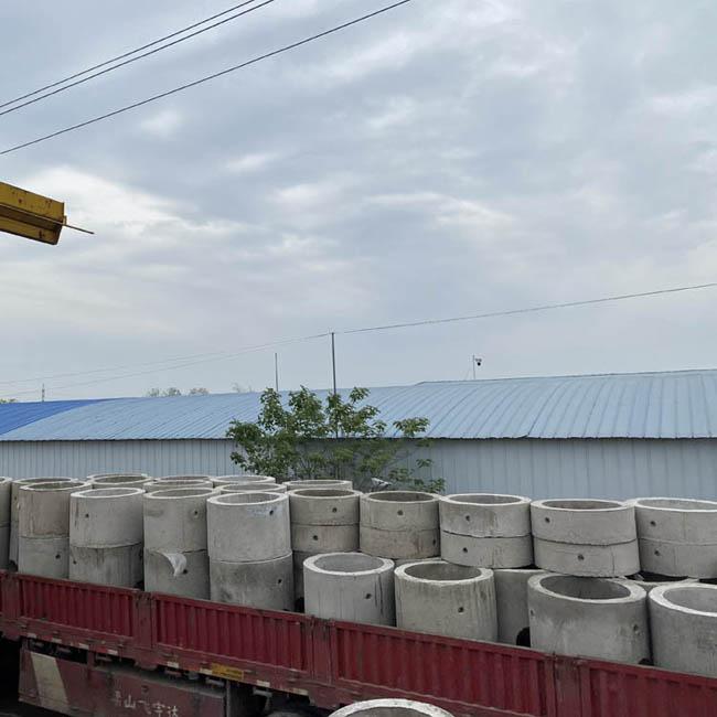 衢州市某客戶訂購的檢查井已發貨