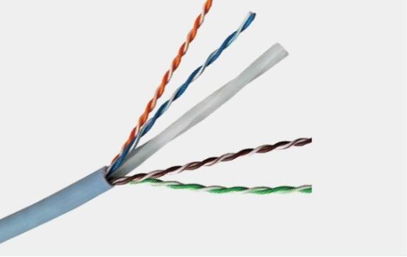 超6类4对UTP电缆