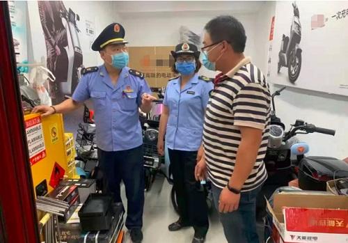 北京市东城区市场监管局紧急对辖区电动自行车经营主体开展全覆盖检查