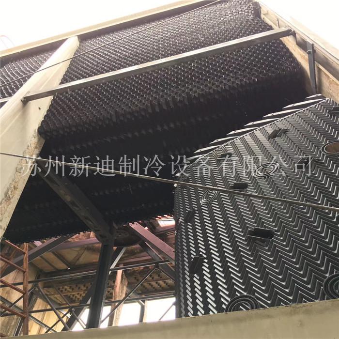 上海馬利塔填料更換項目-上海馬利填料更換現場