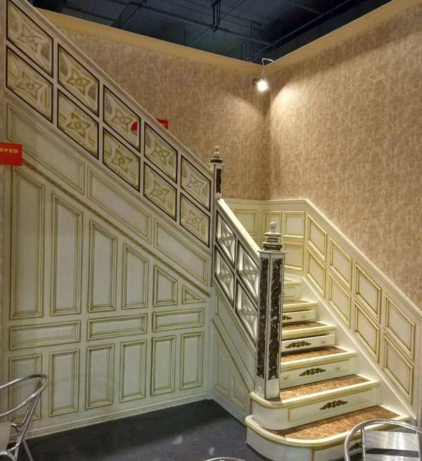 安徽楼梯定制案例