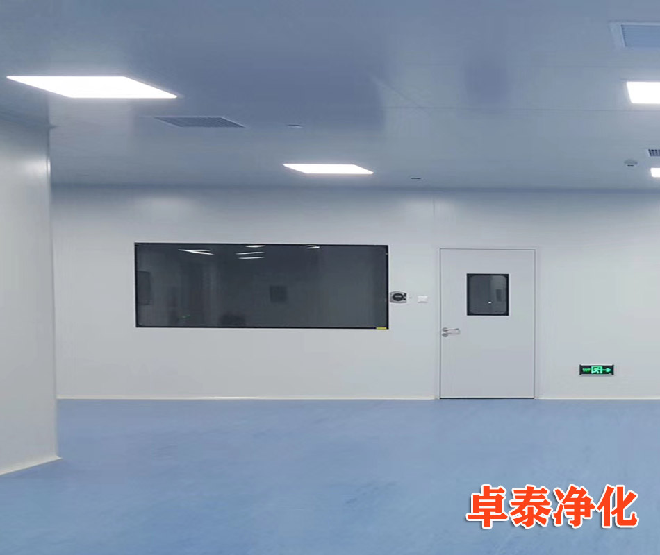 卓泰净化承建河北科力科技十万级净化车间